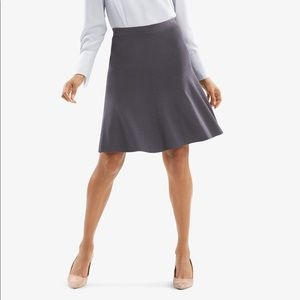 MM LaFleur | The Madison Skirt in Charcoal